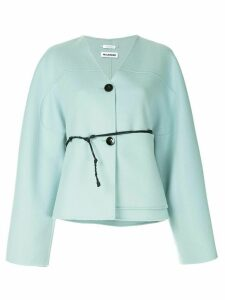 Jil Sander cashmere button cardigan - Blue