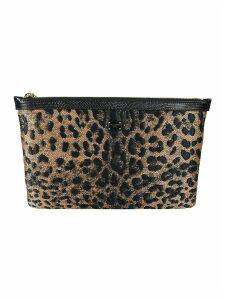 Dolce & Gabbana Leopard Printed Clutch