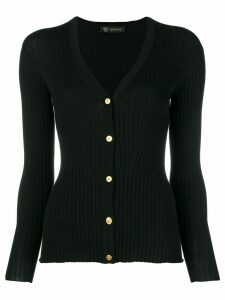 Versace fitted cardigan - Black