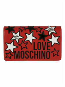 Love Moschino Star Embossed Logo Shoulder Bag