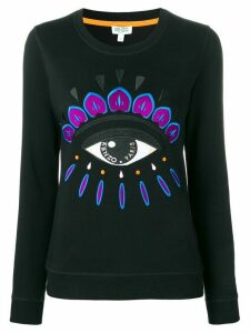 Kenzo Evil Eye embroidered sweatshirt - Black