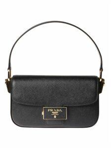 Prada Magnetic Flap Shoulder Bag