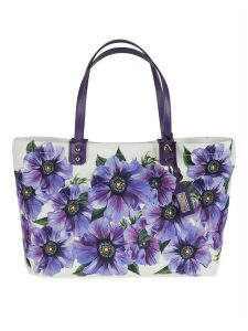 Dolce & Gabbana Floral Printed Tote