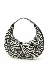 STAUD Sasha Zebra Print Hobo Bag