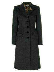Dolce & Gabbana single breasted coat - Grey