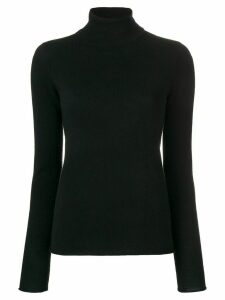 Majestic Filatures cashmere roll neck sweater - Black