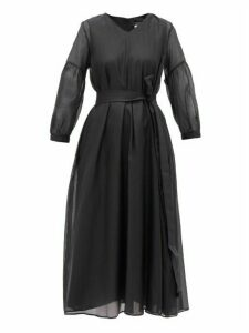 S Max Mara - Rive Dress - Womens - Black