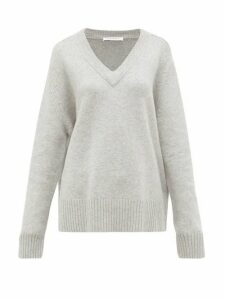 Extreme Cashmere - No.124 Vital Stretch-cashmere Sweater - Womens - Grey