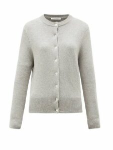 Extreme Cashmere - No. 99 Little Stretch-cashmere Cardigan - Womens - Grey