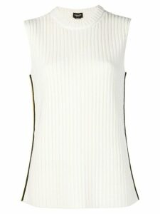 Calvin Klein 205W39nyc ribbed-knit top - White