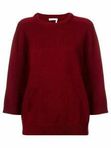 Chloé loose-fit sweater - Red