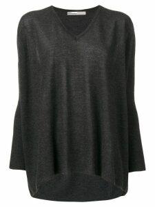 Gentry Portofino V-neck sweater - Grey