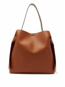 Acne Studios - Musubi Large Leather Tote Bag - Womens - Brown