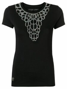 Philipp Plein embellished T-shirt - Black