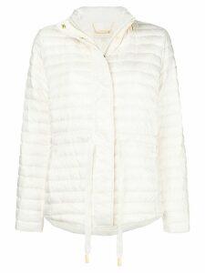Michael Michael Kors zipped padded jacket - White