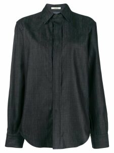 Zilver BCI cotton button-down shirt - Blue