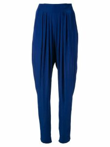 LANVIN tapered trousers - Blue
