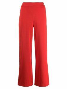 Cavalli Class wide leg track pants - Red