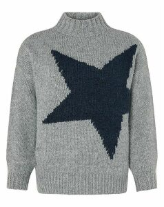 Monsoon Tammy Star Motif Jumper