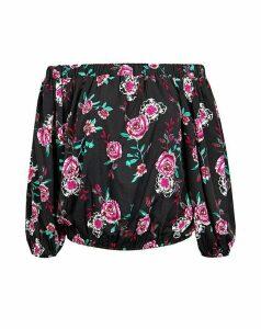 Koko Dark Roses Bardot Top