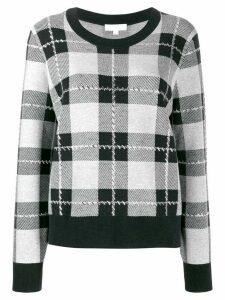 Michael Michael Kors check pullover - Black