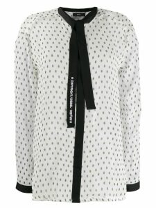 Diesel tie-front blouse - White