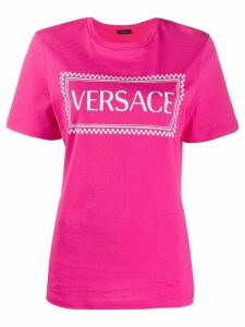 Versace 90's vintage logo print T-shirt - PINK