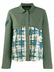 Mr & Mrs Italy check print shirt - Green