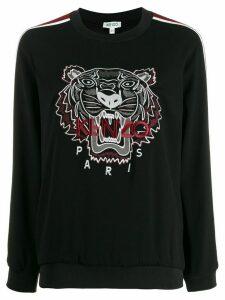 Kenzo crepe tiger top - Black