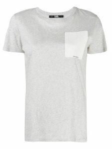 Karl Lagerfeld Ikonik Karl outline T-shirt - Grey