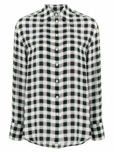 Michael Michael Kors checked print shirt - NEUTRALS