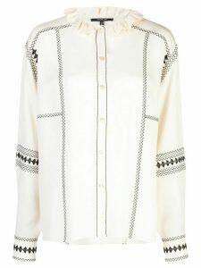 Derek Lam embroidered shirt - White