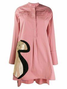 Roksanda oversized shirt - PINK