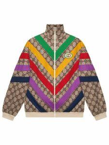 Gucci GG Supreme print jacket - NEUTRALS