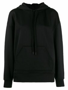 Courrèges classic long sleeve hoodie - Black