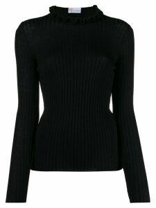 RedValentino RED(V) high neck sweater - Black