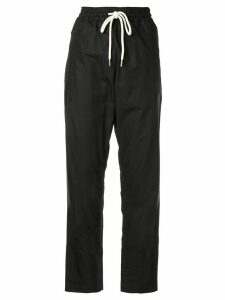 Lee Mathews Carter relaxed-fit trousers - Black