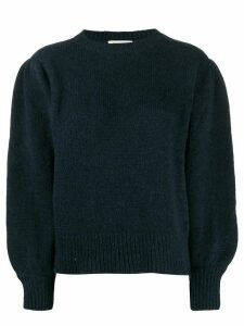 Masscob pleated shoulder jumper - Blue