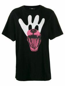 Diesel loose-fit printed T-shirt - Black