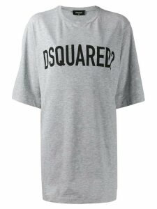 Dsquared2 logo printed T-shirt - Grey