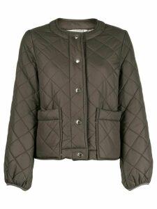 Mackintosh diamond quilted jacket - Green