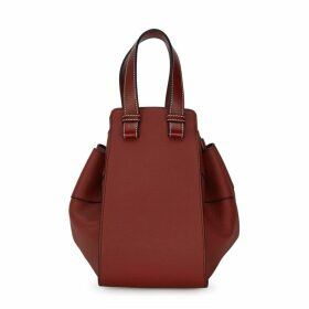 Loewe Hammock Small Red Leather Bucket Bag