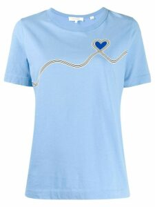 Chinti and Parker logo T-shirt - Blue