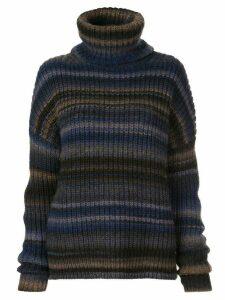 Altuzarra Kelley striped turtleneck jumper - Blue