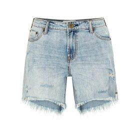 Oneteaspoon Stevies Light Blue Denim Shorts