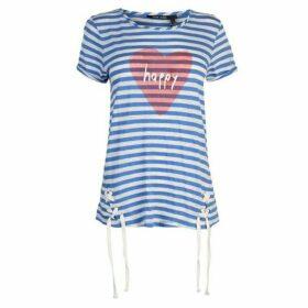 Marc Aurel Stripe Happy T Shirt