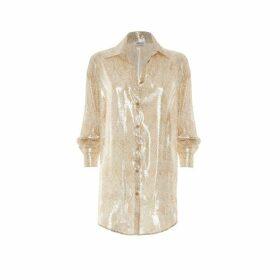 Paolita Dorado Silk Shirt