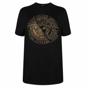 Versace Crystal Medusa T Shirt