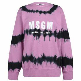 MSGM Msgm  Tie Dye Sweater