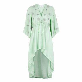 Sundress Anabela Mint Embellished Dress